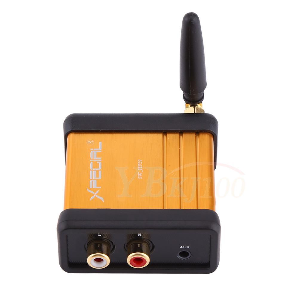 car bluetooth 4 2 audio receiver stereo hi fi box adapter. Black Bedroom Furniture Sets. Home Design Ideas