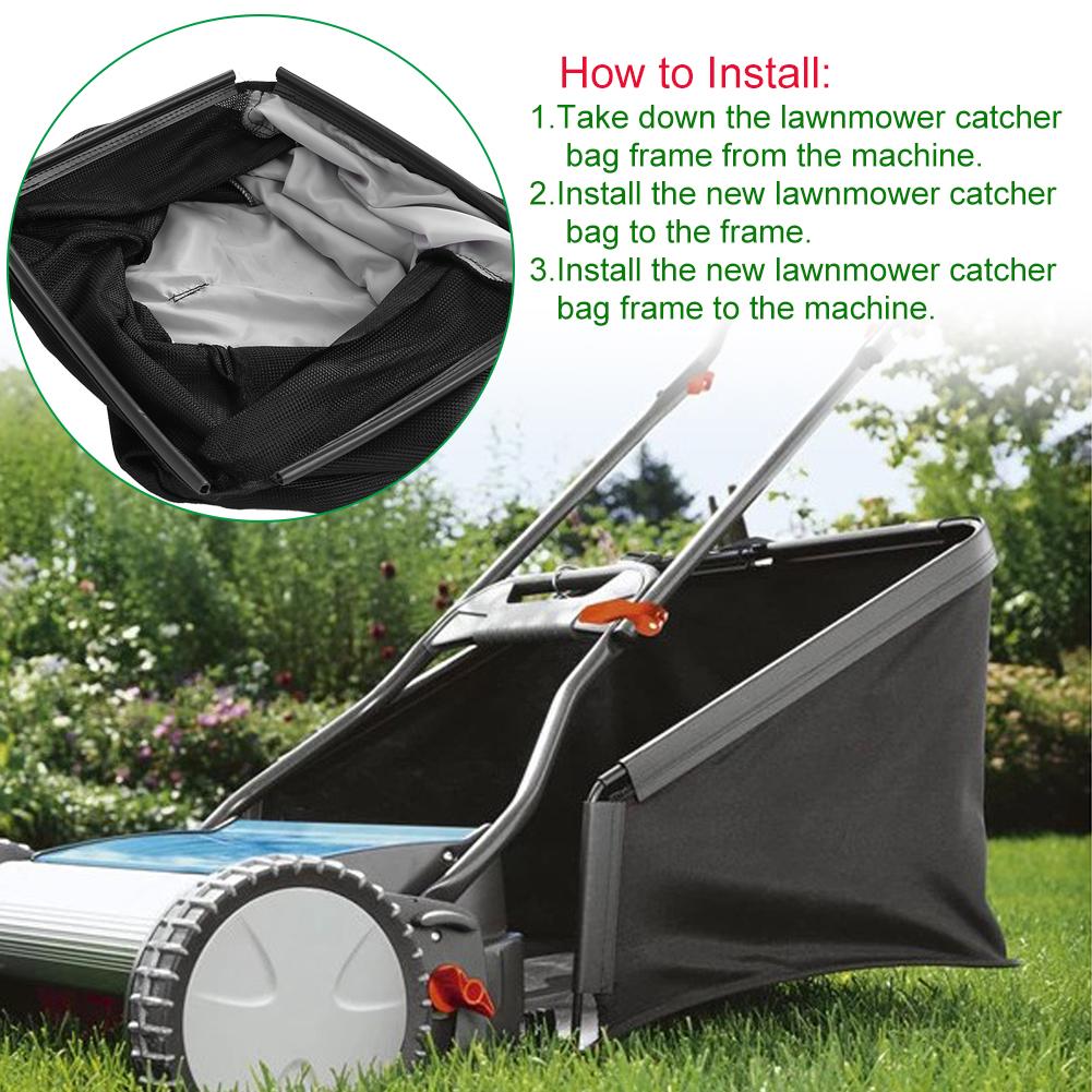 Lawnmower Leaf Grass Catcher Bag for 21\