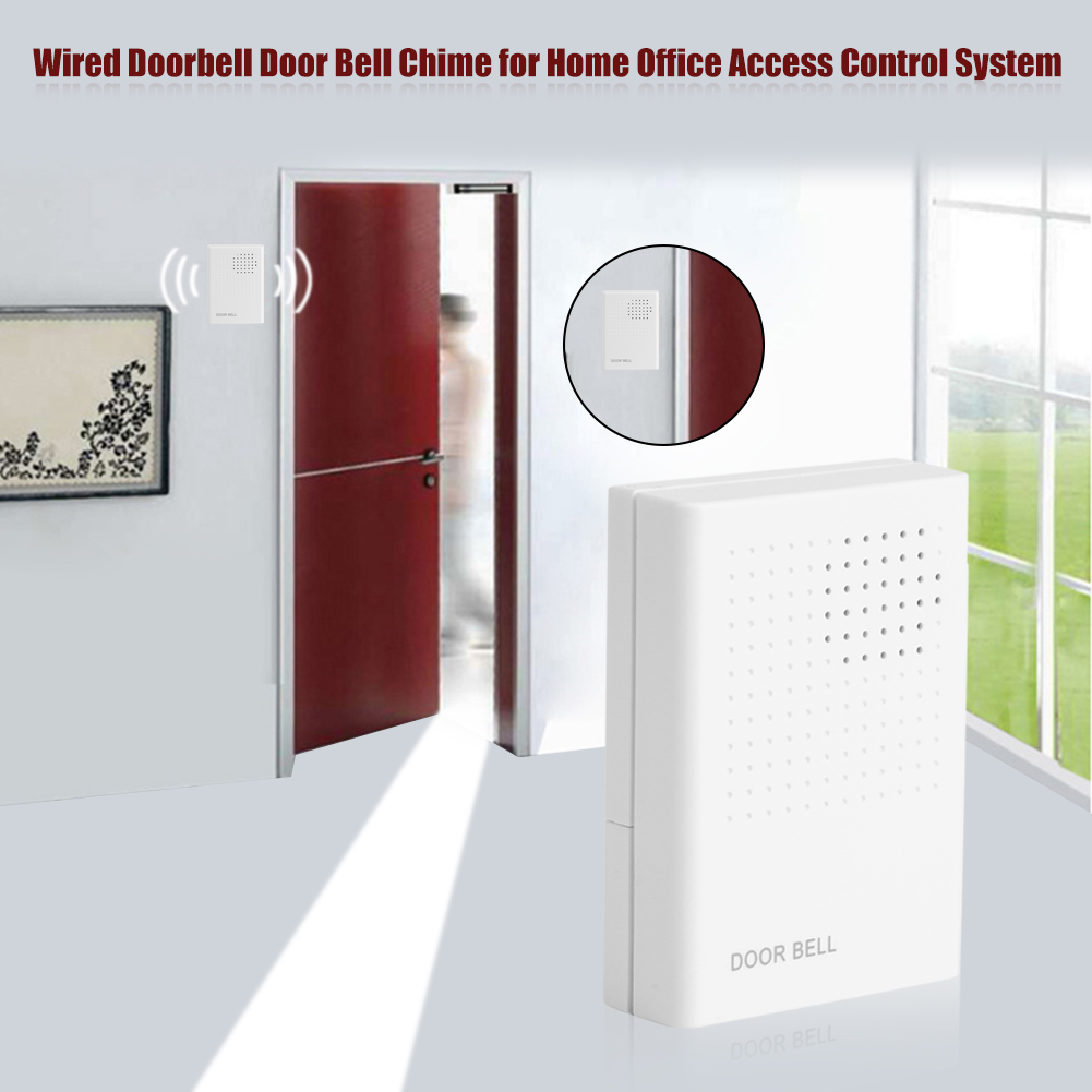 Dc 12v Wired Doorbell Door Bell For Home Office Access