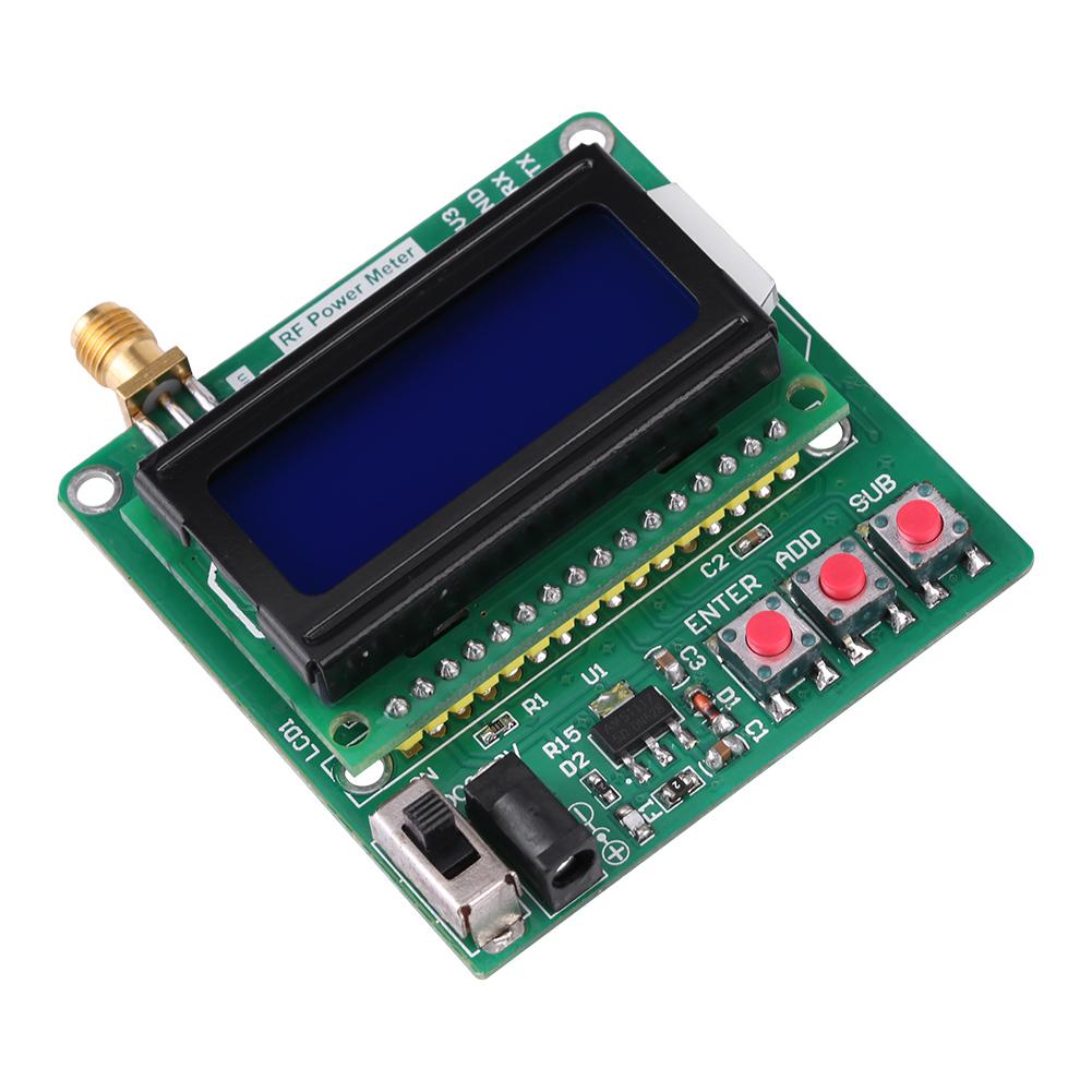 Digital Rf Meter : Digital lcd rf power meter dbm mhz radio