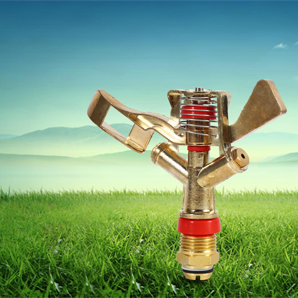 Inch rotating irrigation sprinkler head rocker arm lawn
