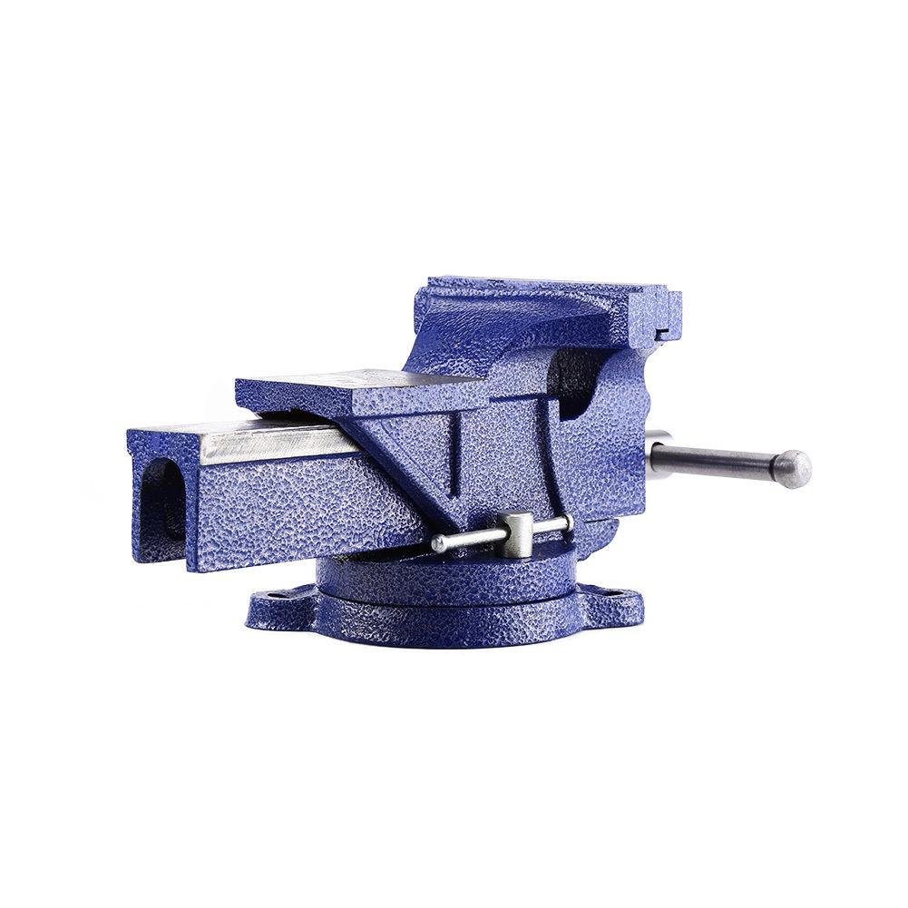 Parallel-Schraubstock 100mm-150mm mit Amboss Drehbar 360° für Werkbank GD-3 Toll