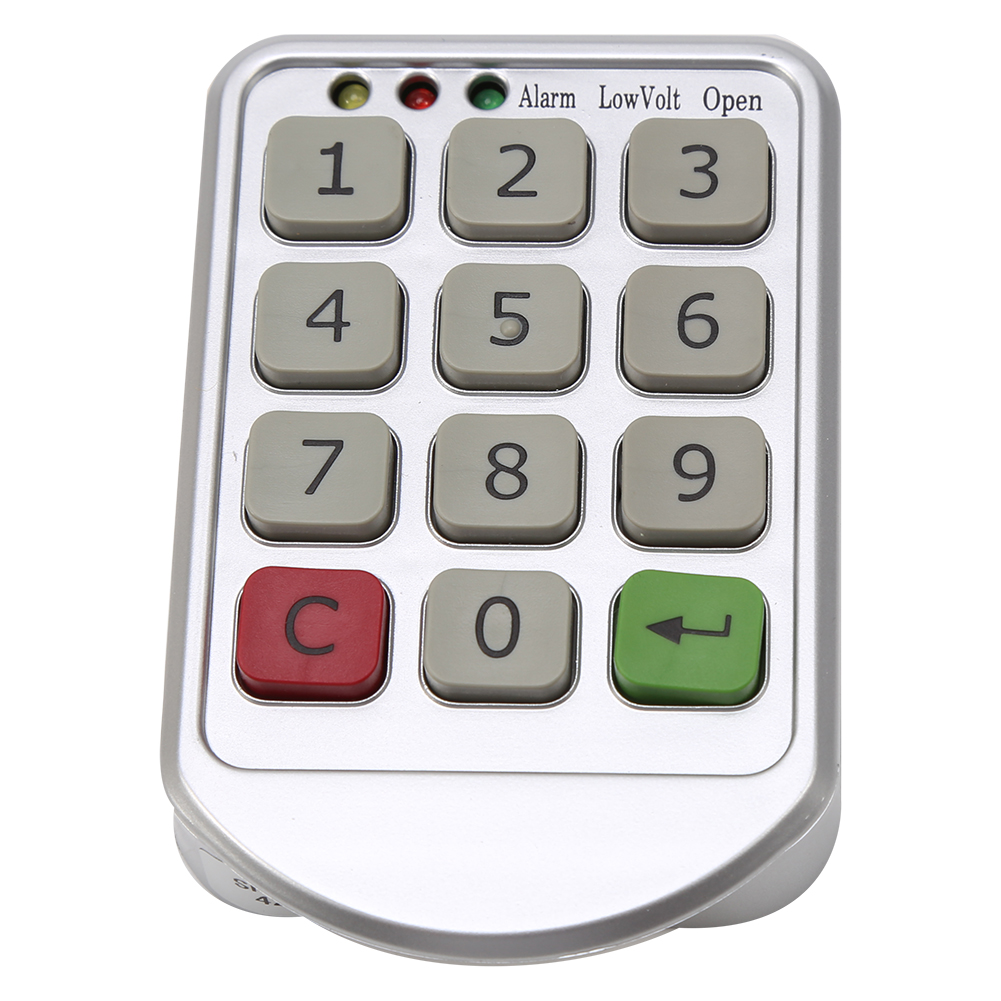 digital electronic password keypad number cabinet door code locks for bathroom ebay. Black Bedroom Furniture Sets. Home Design Ideas