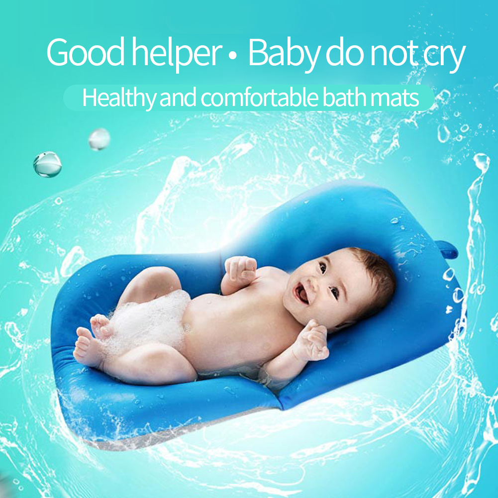 Baby Newborn Bath Pillow Seat Pad Tub Floating Cushion Infant Air ...