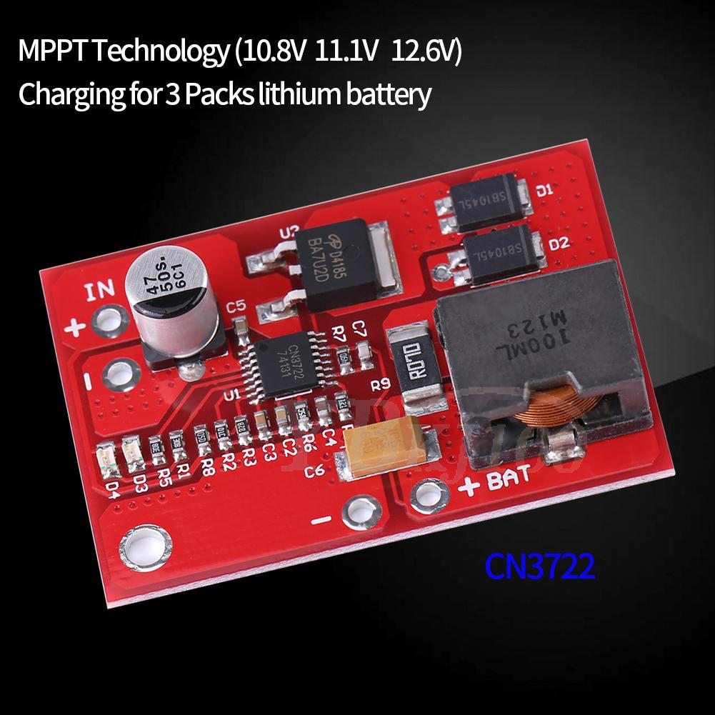 Mppt Solar Controller 3s 126v Lithium Battery Charging 18650 Charger Circuit Besides Charge Module Zhn