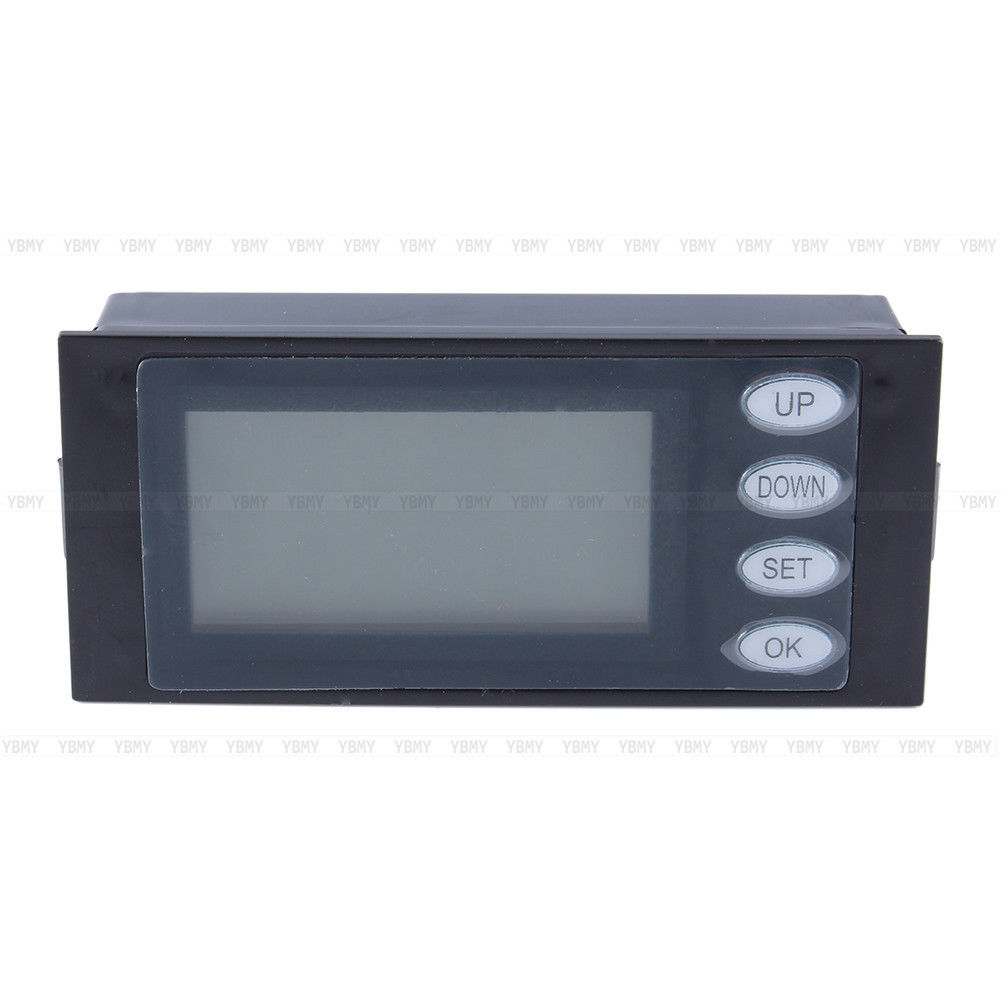 Ac Power Monitor : Ac digital led power meter monitor voltage kwh time watt