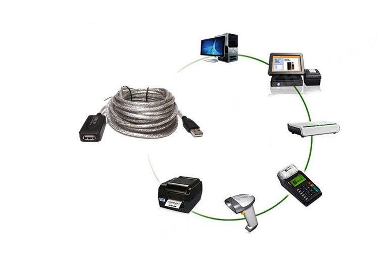 5m 10m 20m 15m usb 2 0 aktive extension repeater verl ngerung kabel 480 mbps ebay. Black Bedroom Furniture Sets. Home Design Ideas
