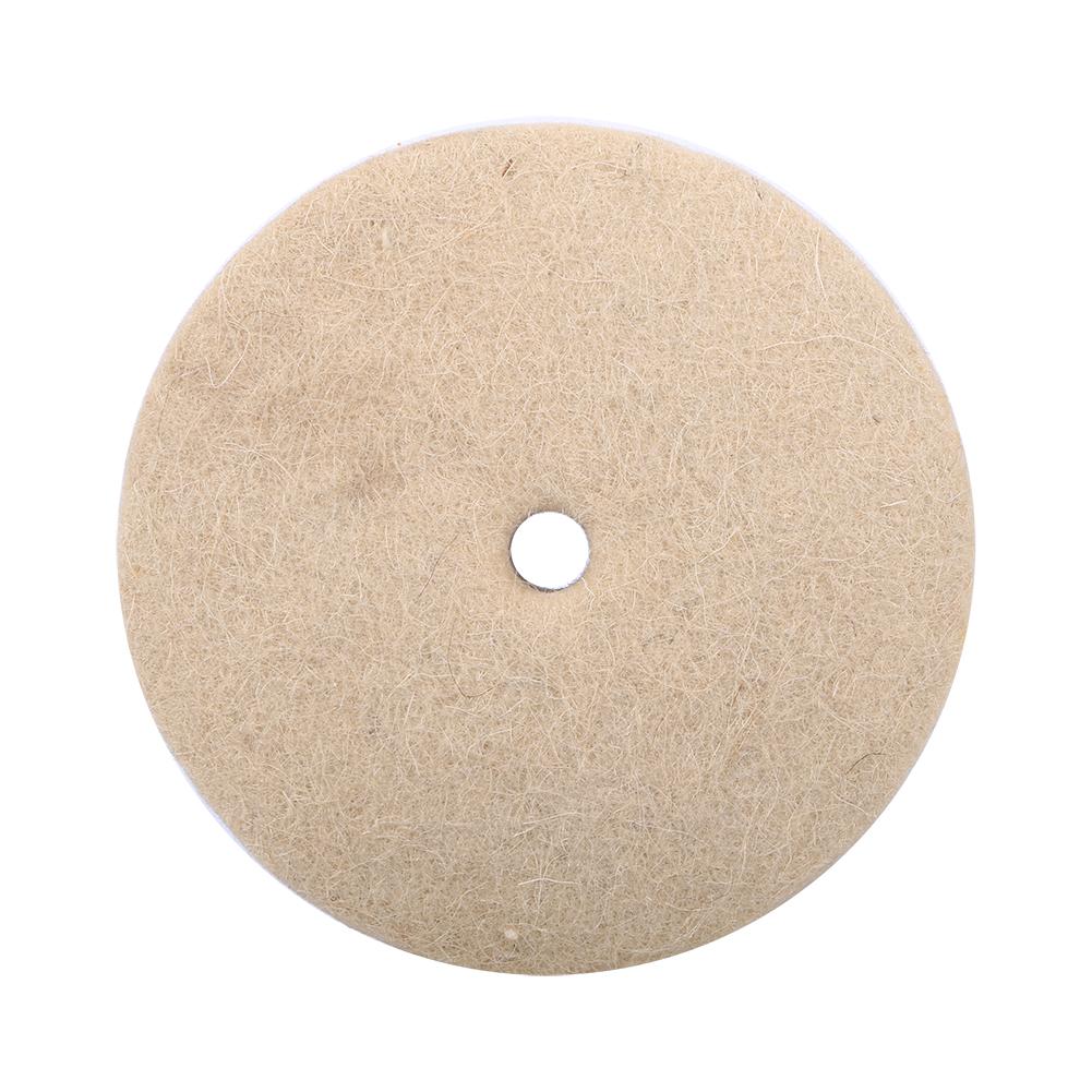 100x25mm 4 Quot Metal Glass Polishing Buffing Wheel Wool Felt