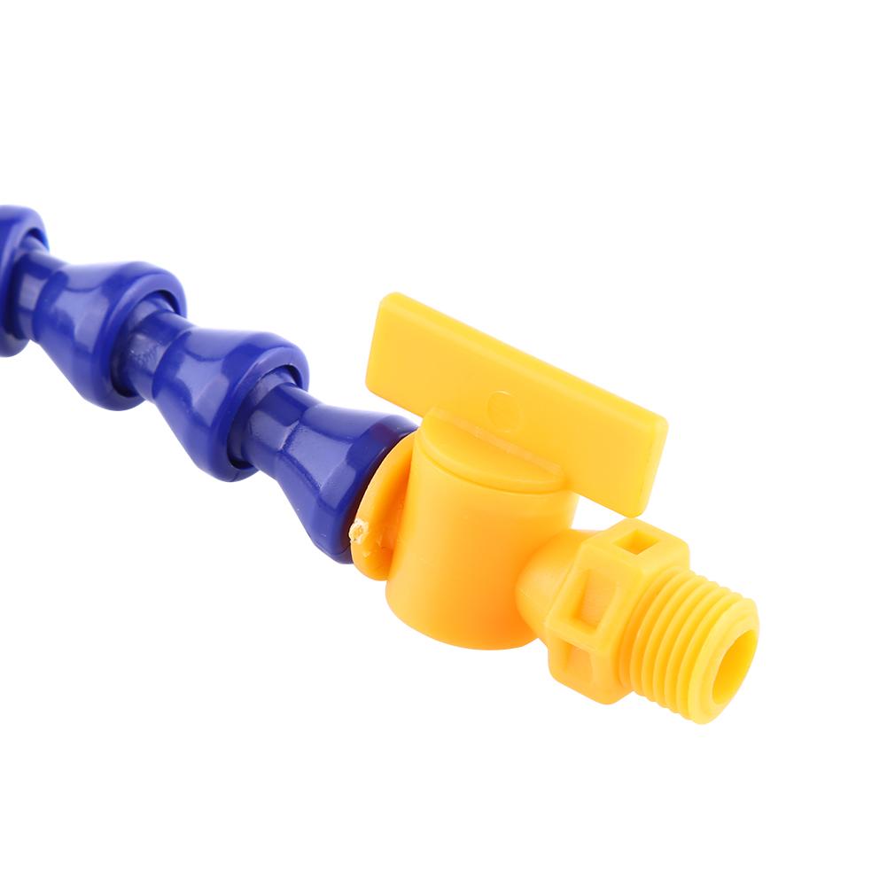 Pcs lathe cnc machine adjustable flexible plastic water
