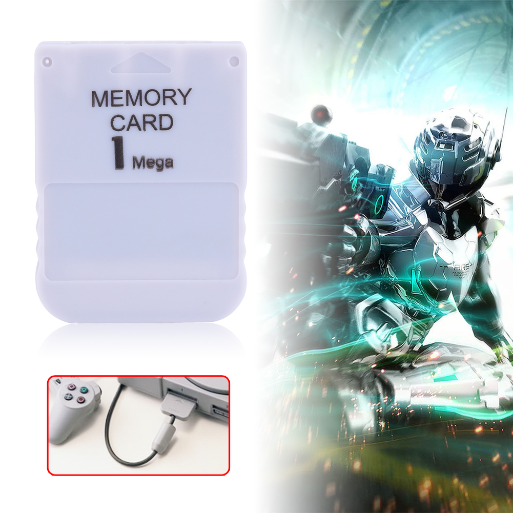 1MB Ultra Micro SD Memory Card Stick For Playstation 1 One Sony PS1 Game SG