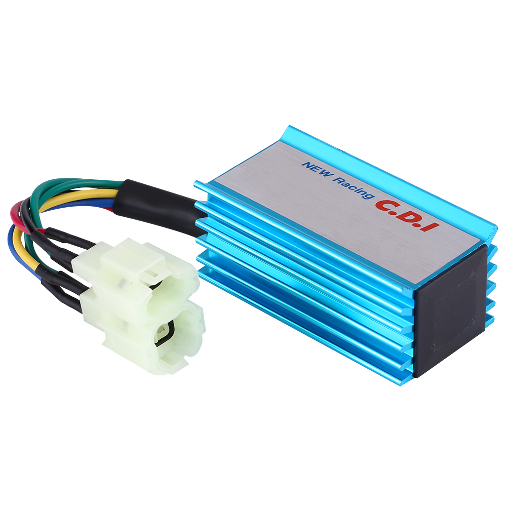 6 Pin Wire Racing CDI AC Ignition for GY6 50-250CC ATV Scooter Moped ...