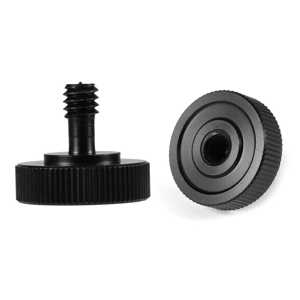 Screw 2018 20mm 1//4Male to 1//4Female Socket Screw Adapter for Tripod Camera Stand Accessories
