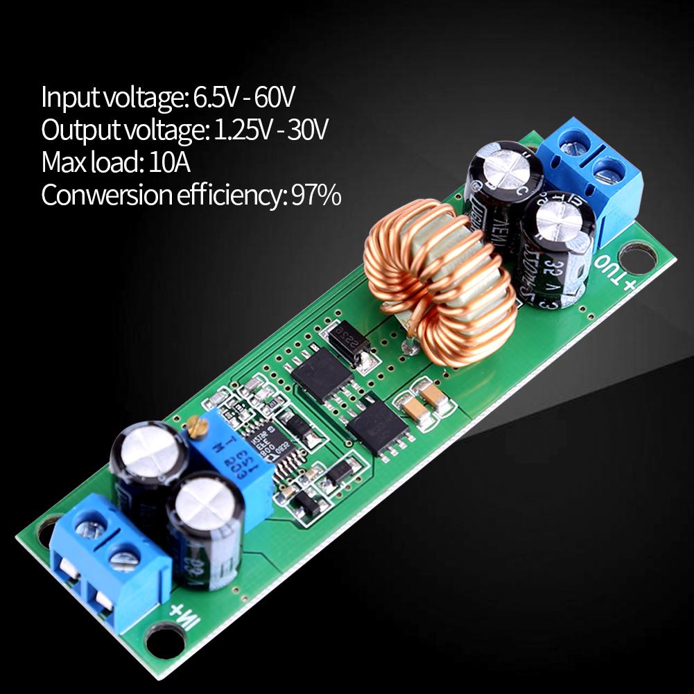 Dc Buck Converter Step Down Regulator 60v 48v 36v 24v 12v To 18v Related Circuits Or 10v Using 9v 5v 3v