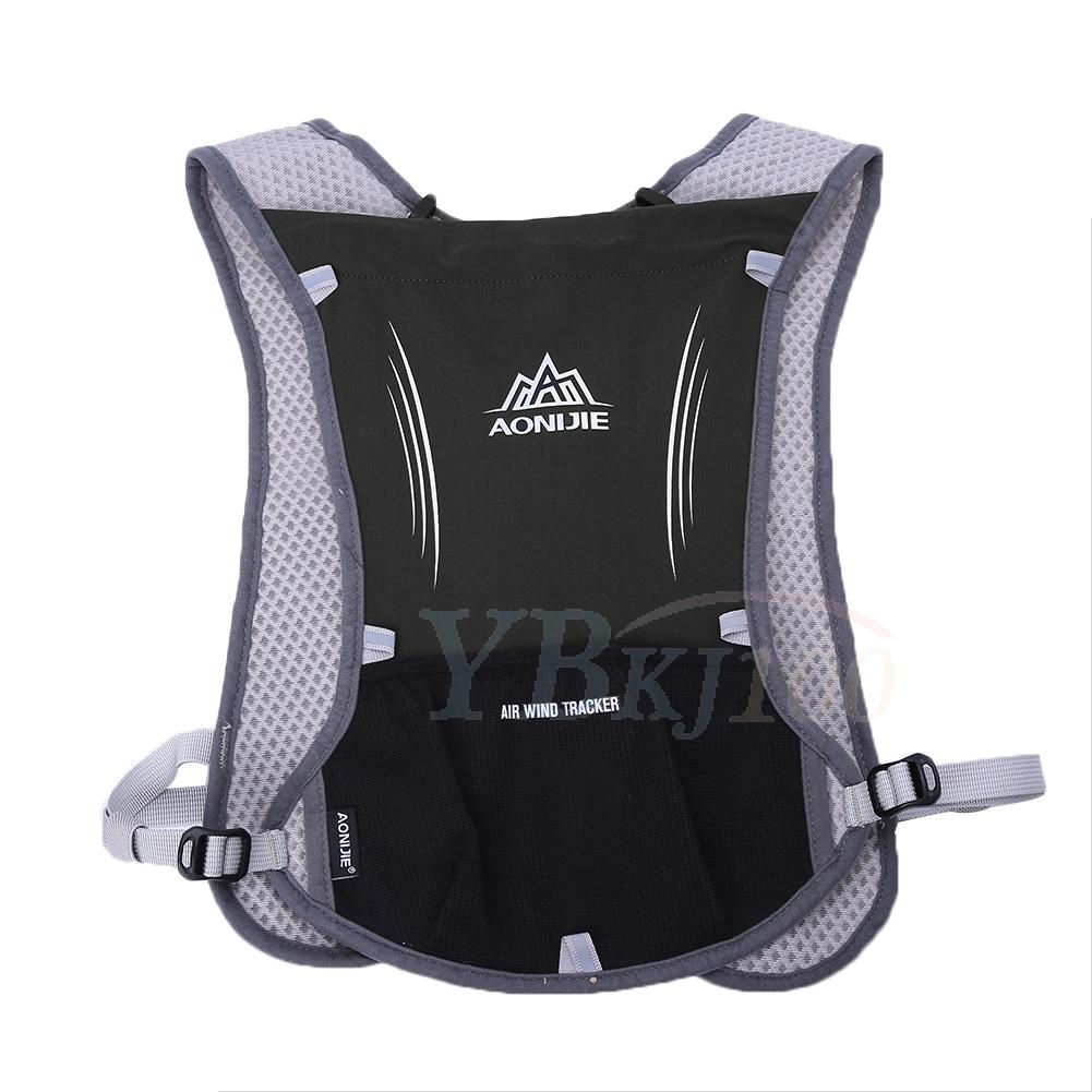 AONIJIE Reflective Vest Sport Water Bottle Backpack Bag For Running Cycling K3X0