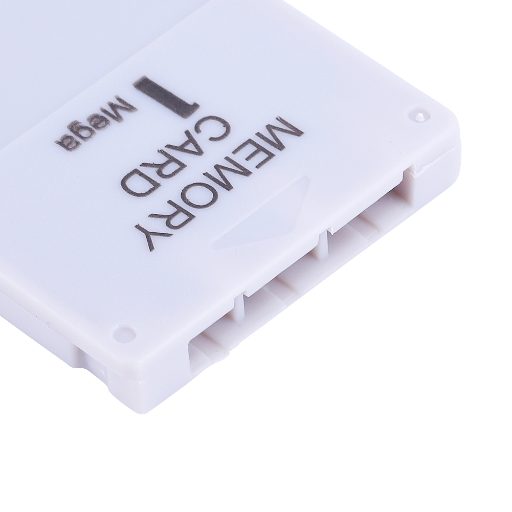 1MB Memory Card Stick For Sony Playstation 1 One PS1 Gamecube White