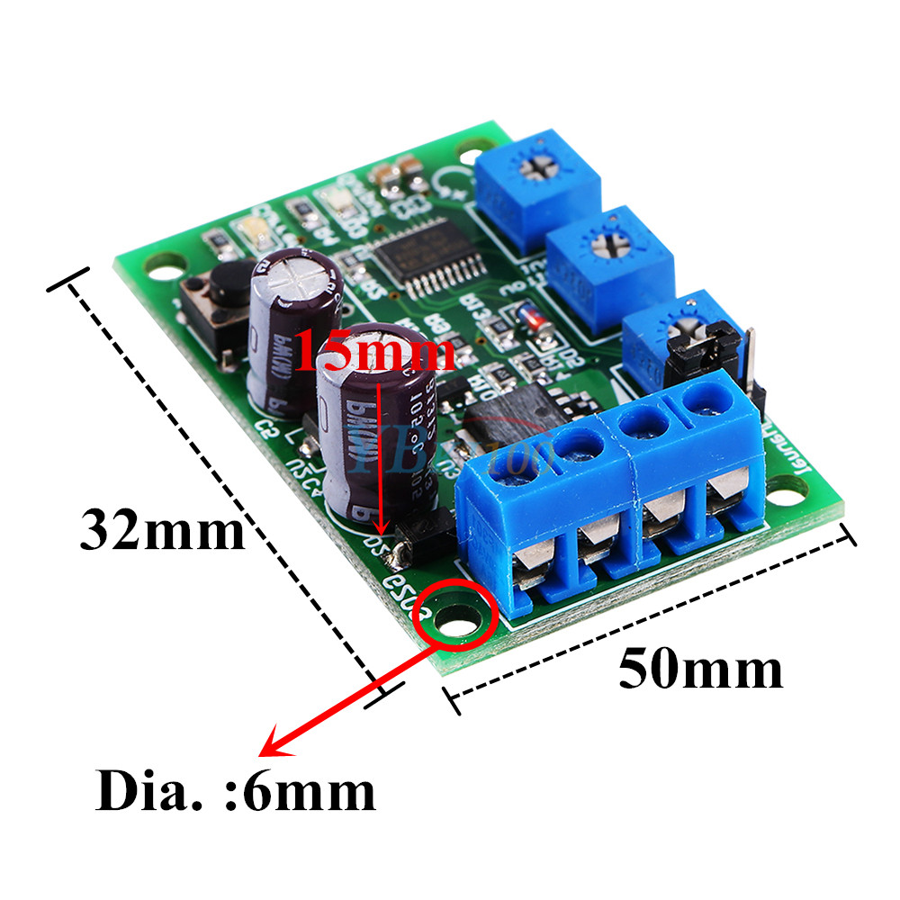 Dc Motor Overload Current Protector Switch Short Circuit Protection Over Module