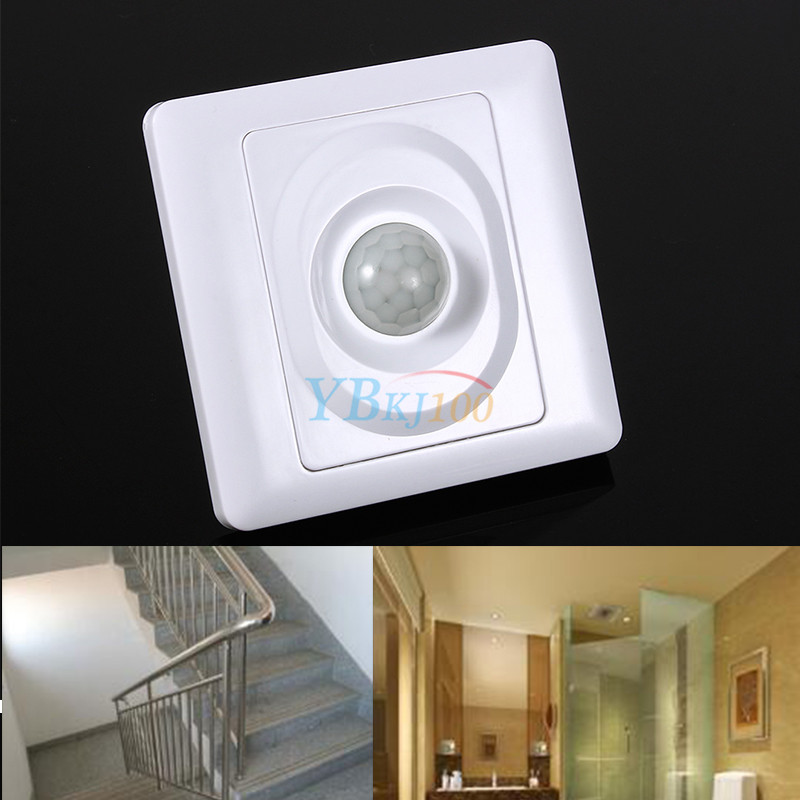 Energy Saving Human Body Sensor Switch Can Control All Kinds Of Lights Led Incandescent Lamp Etc