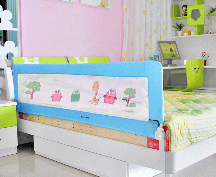 UK STOCK Babyway Childs Toddlers Bed Rail Guard Safety Sleep