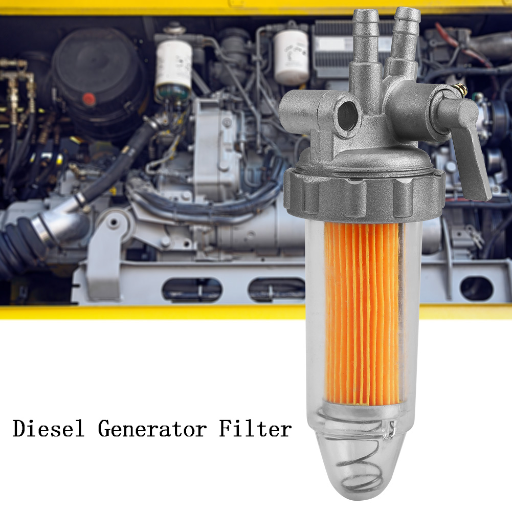 Abs Fuel Oil Filter Assembly For 186fa 178fa 186f 5kw Diesel Generator Engine Im