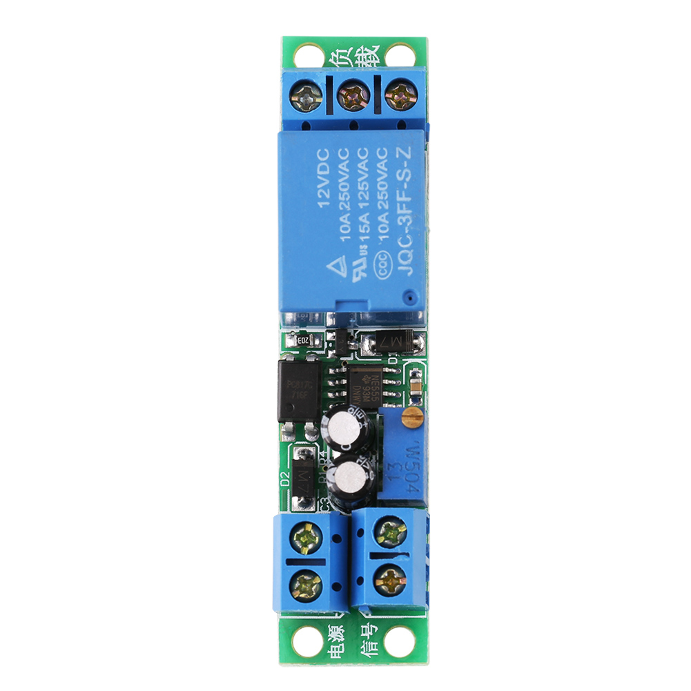 1x Dc 12v Signal Trigger Delay Turn Off Timer Switch Relay Working Principle Product Description