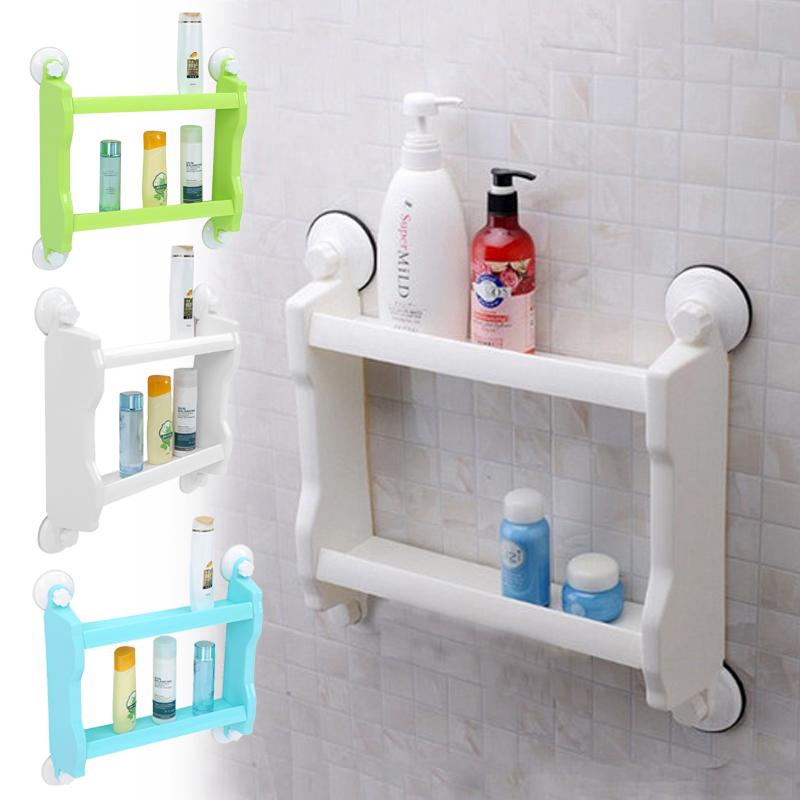 badezimmer aufbewahrung organizer badregal duschkorb wandregal k che 3 farben gd ebay. Black Bedroom Furniture Sets. Home Design Ideas