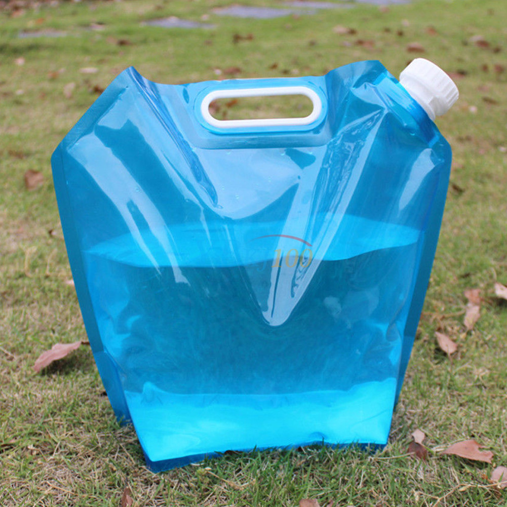 10L Foldable Collapsible Camping BBQ Picnic Water Storage Container