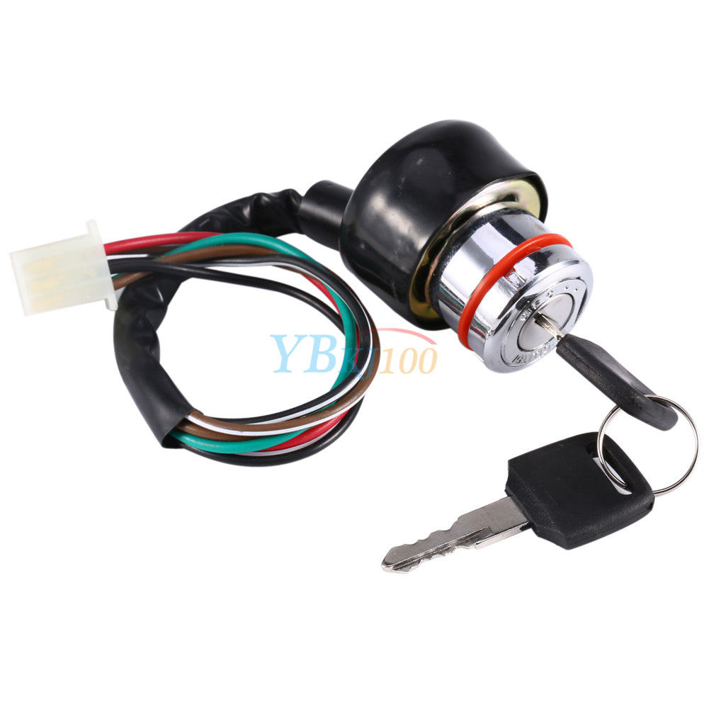 universal car motorcycle 6-wire in 9 pin plug ignition switch 3 position 2 keys 957881084684   ebay house hold wiring a plug switch wiring a plug for both #8