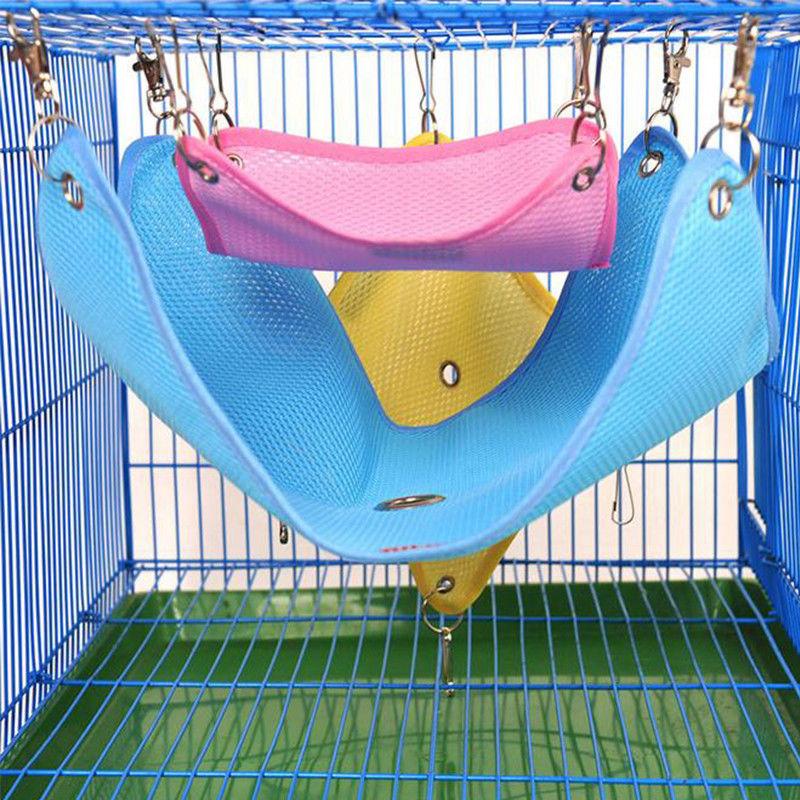 Hammock for Hamster Rat Parrot Ferret Hamster Hanging Bed ...