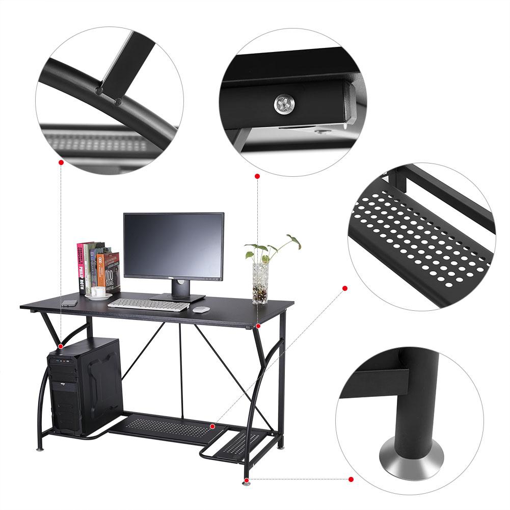 b ro schreibtisch computertisch pc tisch b rotisch arbeitstisch computerregal gd 663862569988 ebay. Black Bedroom Furniture Sets. Home Design Ideas
