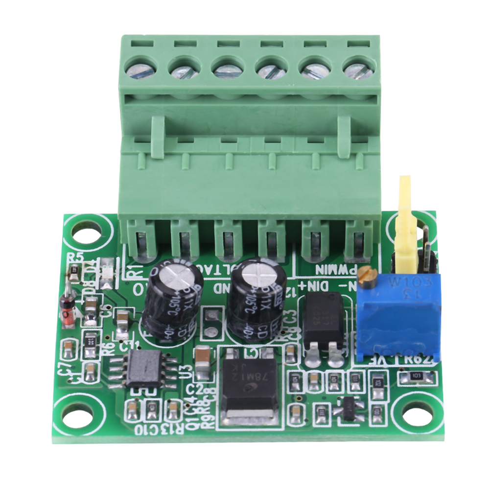 1 3khz To 0 10v Pwm Signal Voltage Converter Module Digital Of Usb Wires Color Code Besides Ad9850 Dds Schematic Diagram Analog Board Zhn