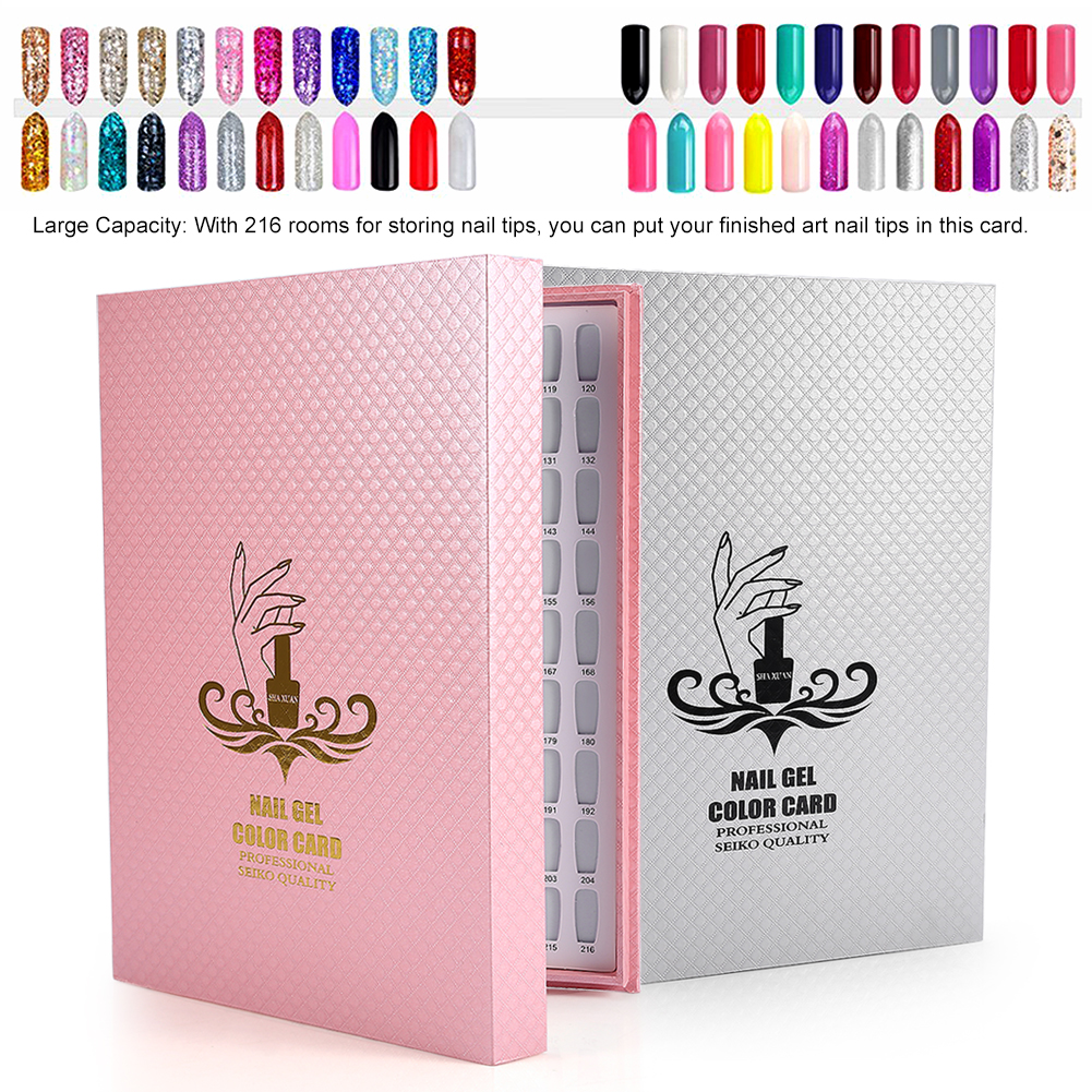 Nail Gel Polish Display Card Book Color Board Chart Nail Art ...