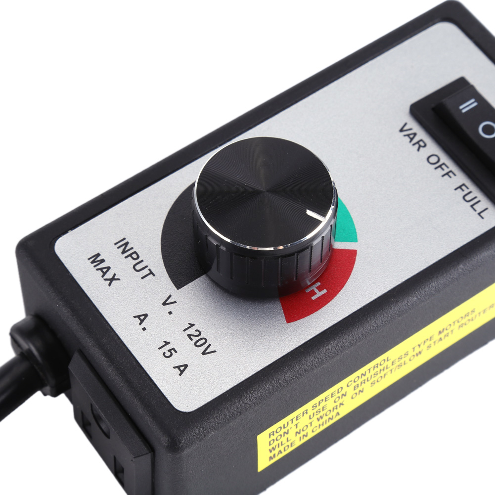 120v 5 15a Active Duct Fan Variable Speed Dial Controller For Inline Router Control Circuit Details