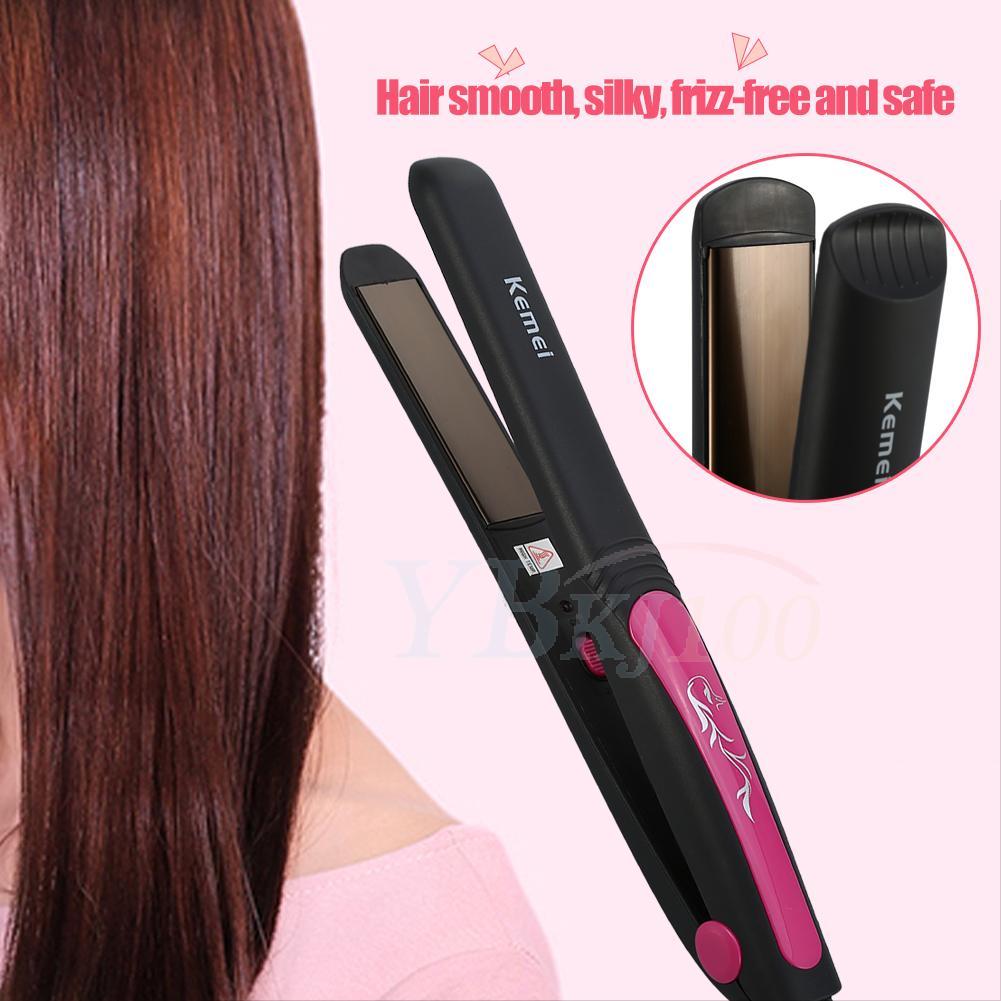 Professional Steam Hair Straightener Straightening Iron
