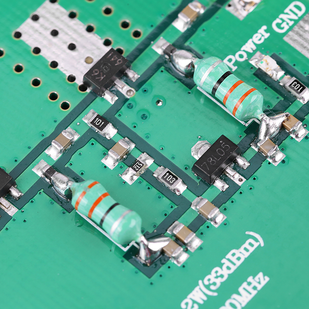 1 930mhz 2w Rf Broadband Power Amplifier Module For Radio Hf 300khz 30mhz Linear Product Description