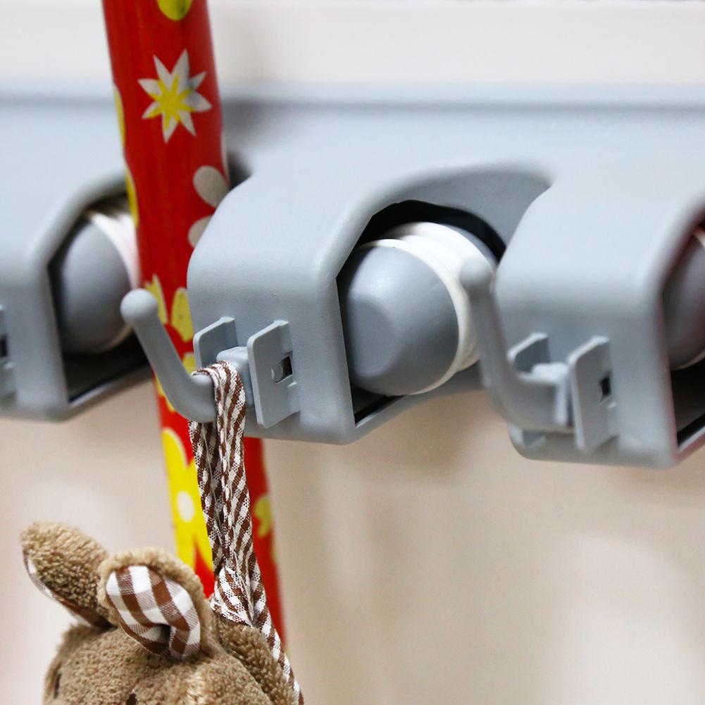 2xgerätehalter werkzeughalter gartengeräte geräteleiste besenhalter
