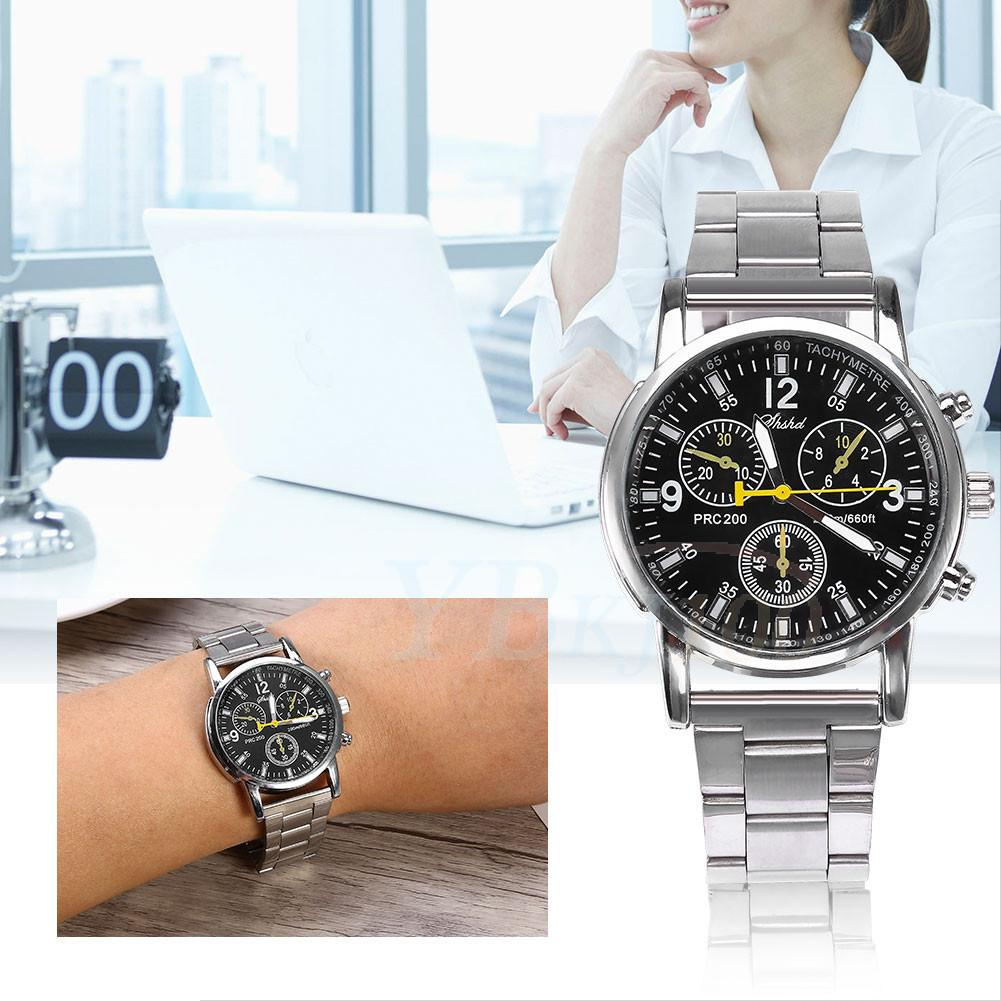 Luxury Men Date Watch Stainless Steel Official Military Analog Quartz Watches Gl Ebay