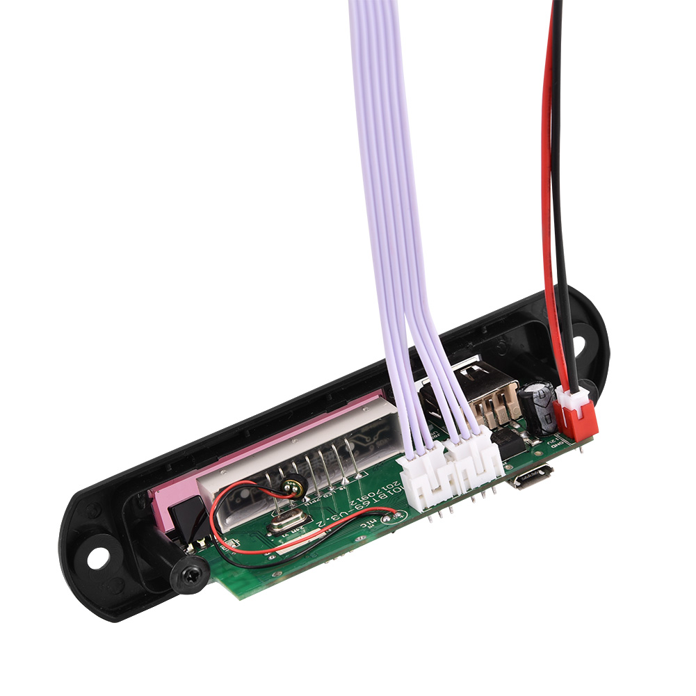 Kkmoon Car Music Mp3 Decoder Board Audio Fm Radio Module: 12V Car Bluetooth Wireless MP3 Decoder Board Audio Module