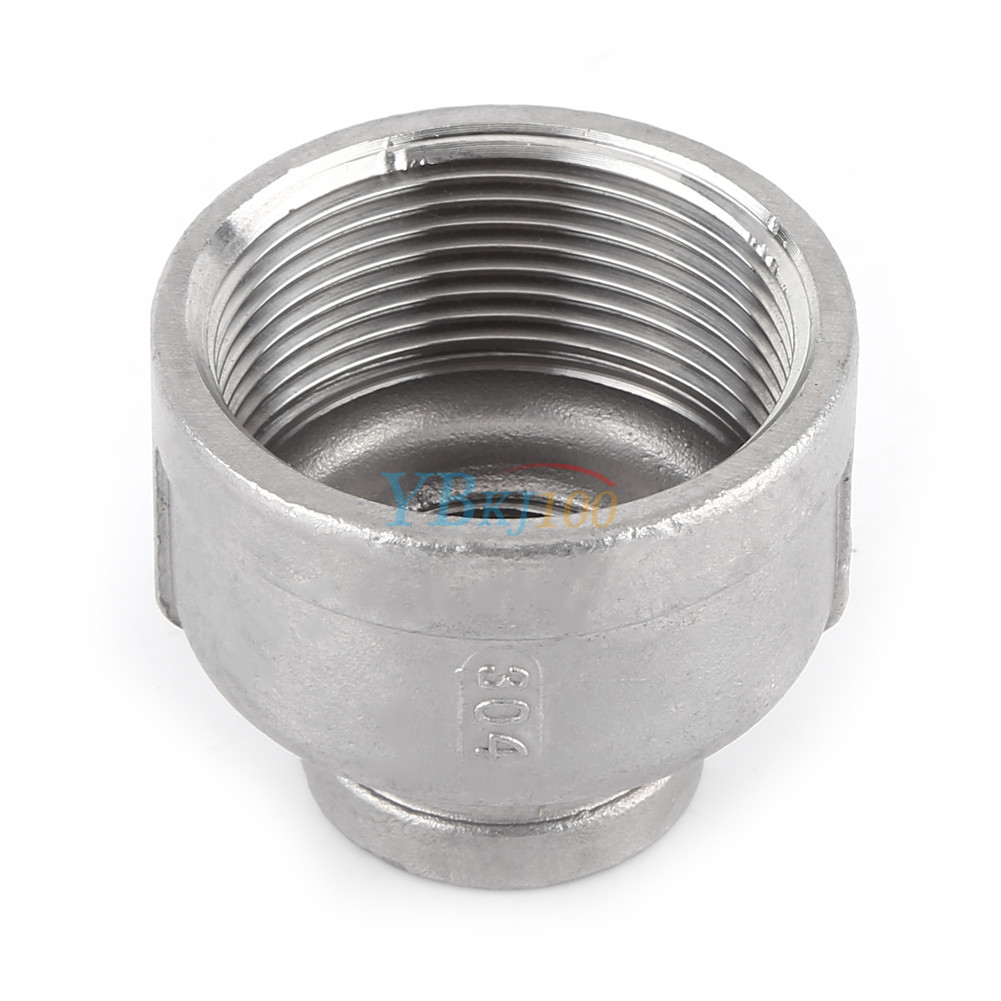 Female nipple threaded reducer pipe fitting stainless