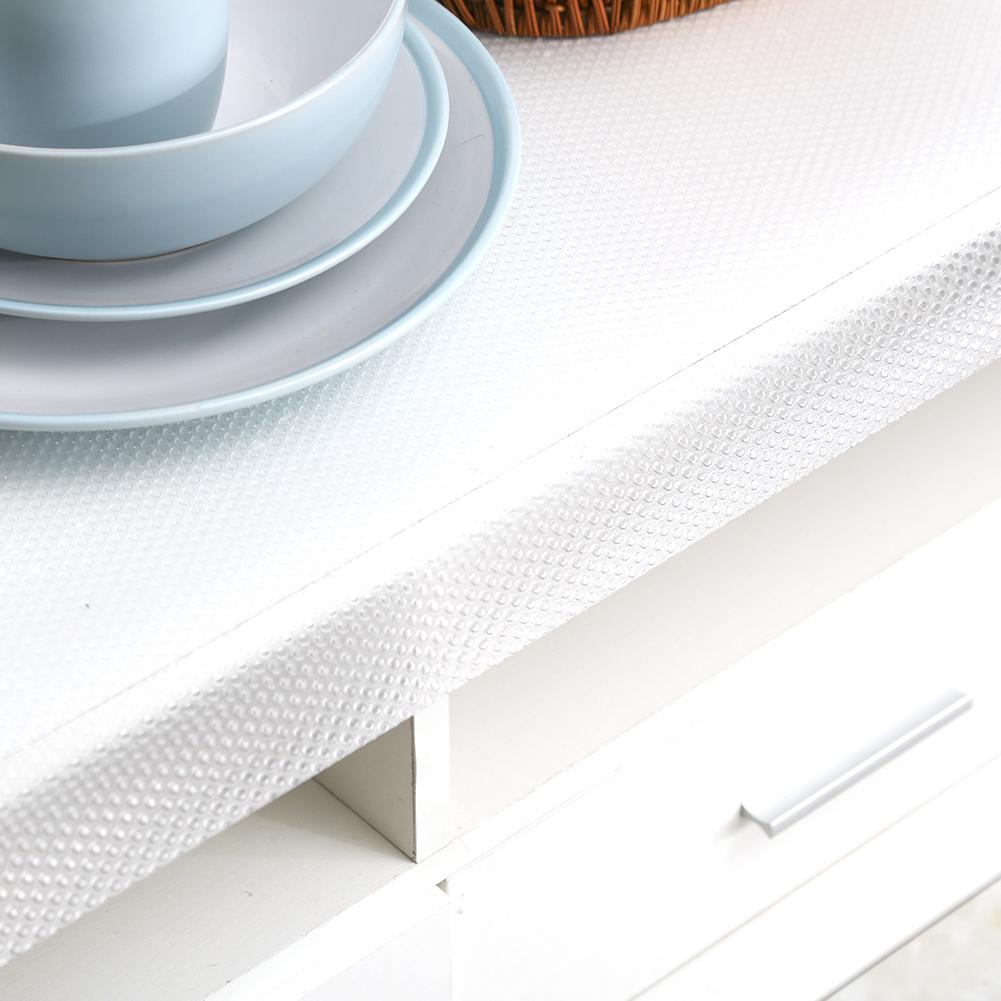 Transparent Drawer Liner Mat Non-Slip Kitchen Bedroom Cupboard Table ...