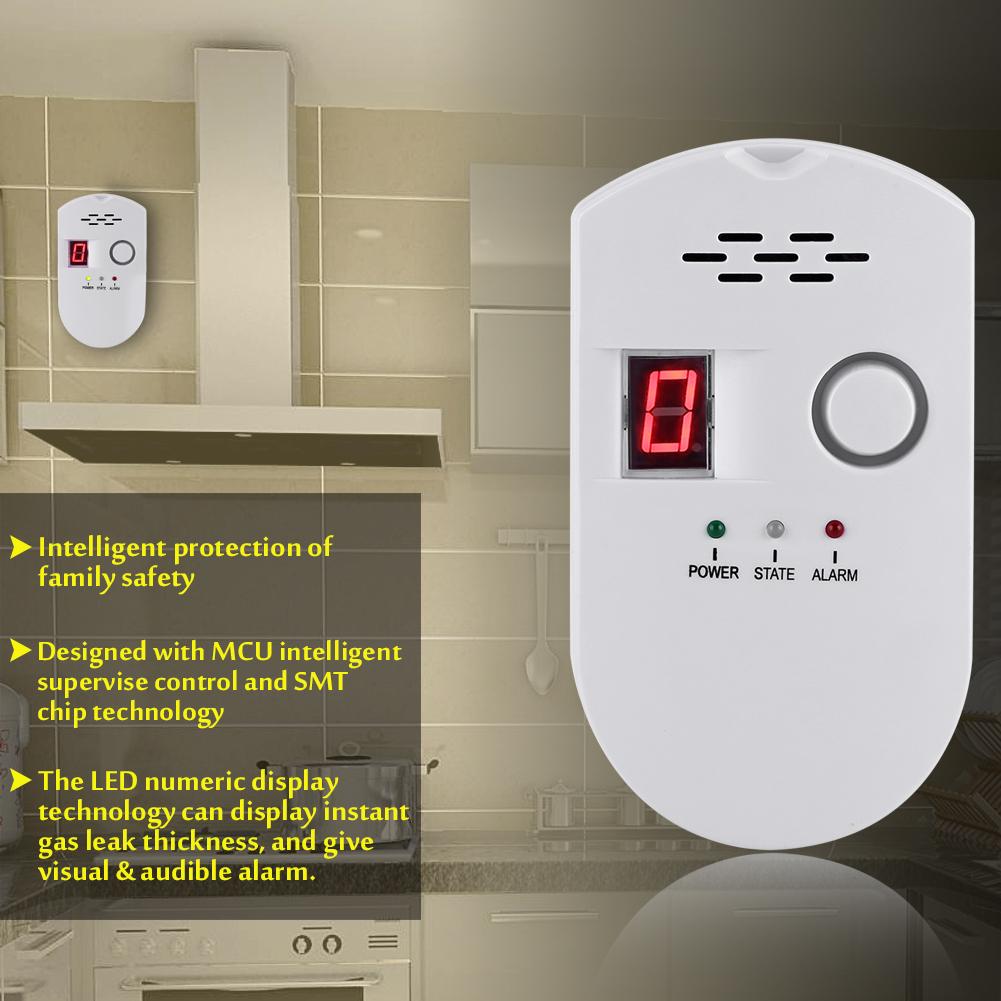LCD Carbon Monoxide Poisoning Gas Warning Sensor Alarm ...