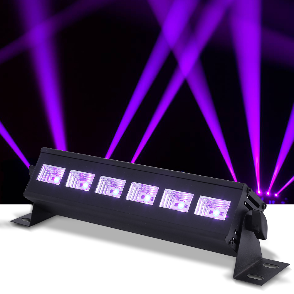 Details About 6 3w Stage Light Bar Led Wall Wash Lighting For Disco Dj Ktv Club Party Wedding