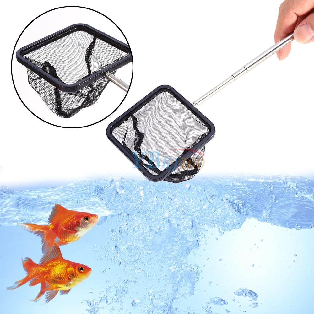 Aquarium Fishing Handle Extendable Shrimp Small Betta Tetra Fish Tank Mesh Net Premium Quality