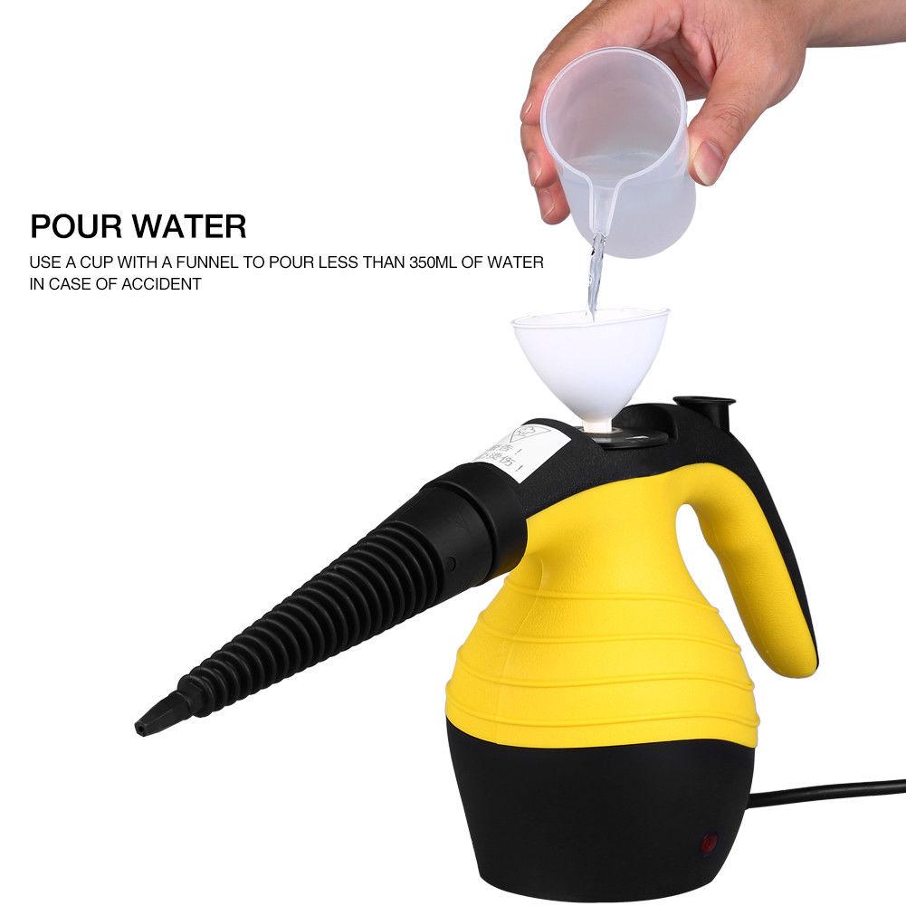Portable 1050w Handheld Handy Steam Cleaner Mop Floor