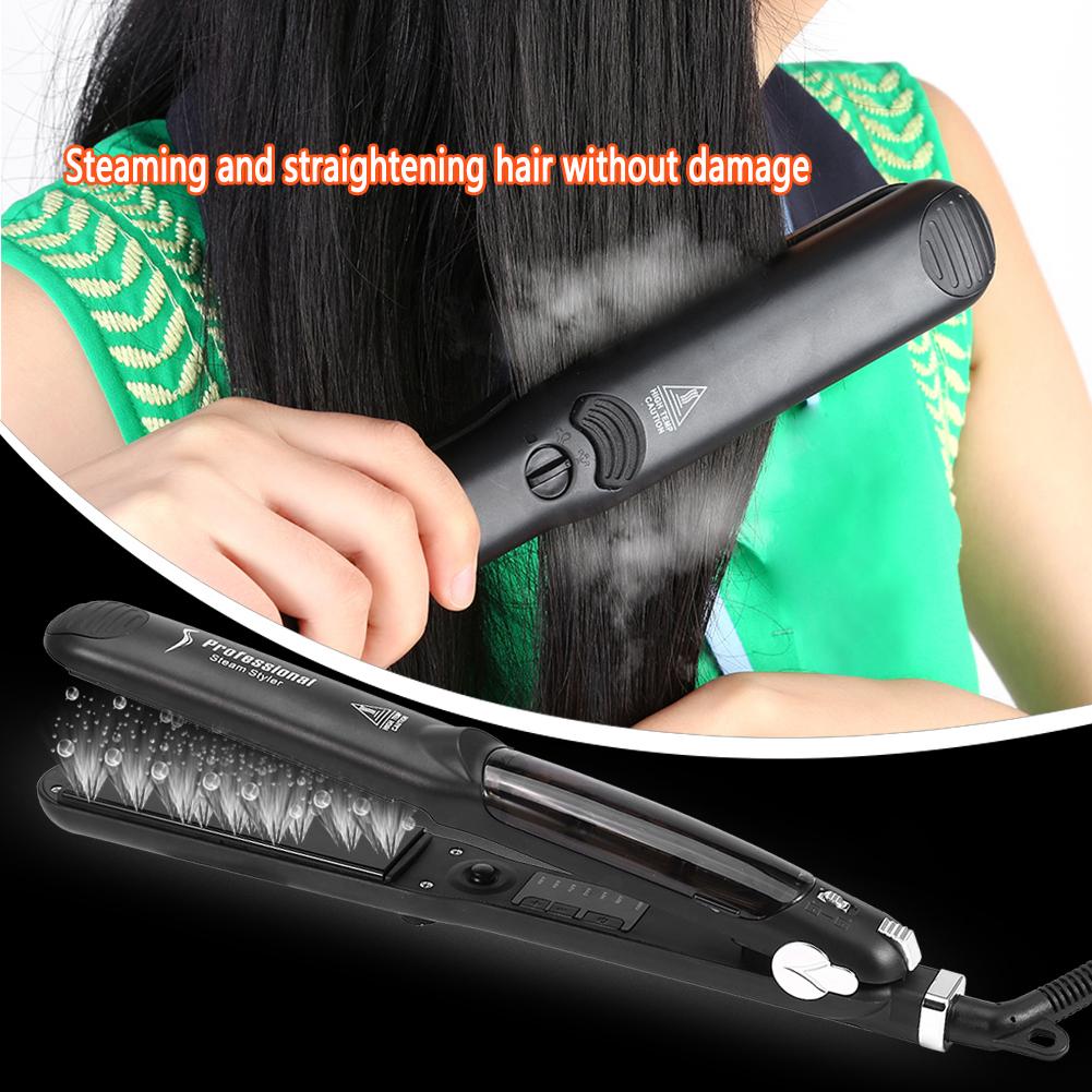 Professional Hair Salon Steam Flat Iron Hair Straightener