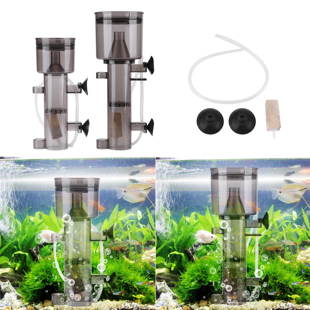 Aquarium Fish Tank Protein Skimmer Waste Collector Filter