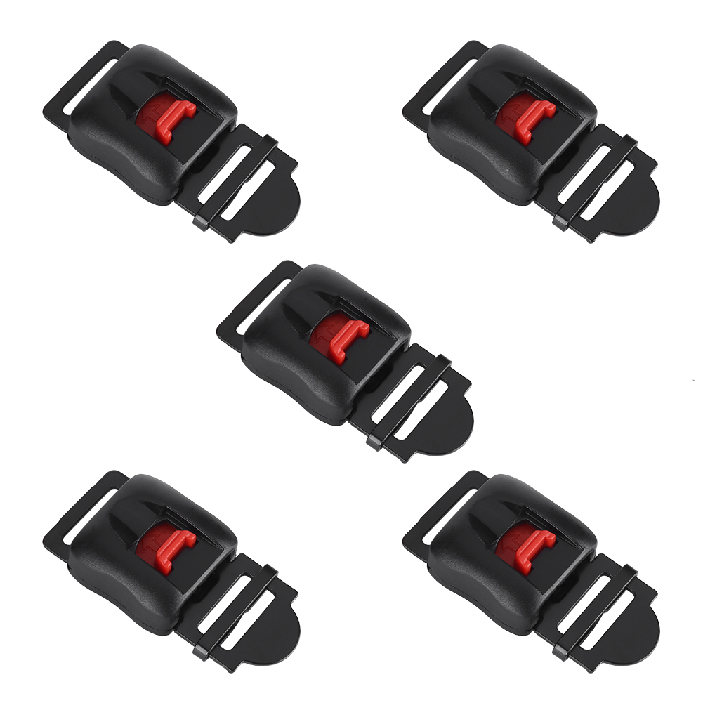 5pcs Motorcycle Helmets Clip Chin Strap Quick Release Buckle Disconnect
