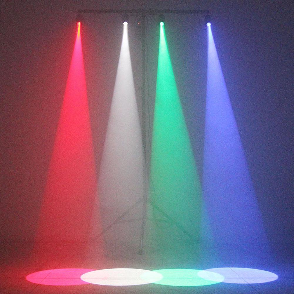 Mini Led Rgb Pin Spot Stage Lights Color Changing Disco Dj