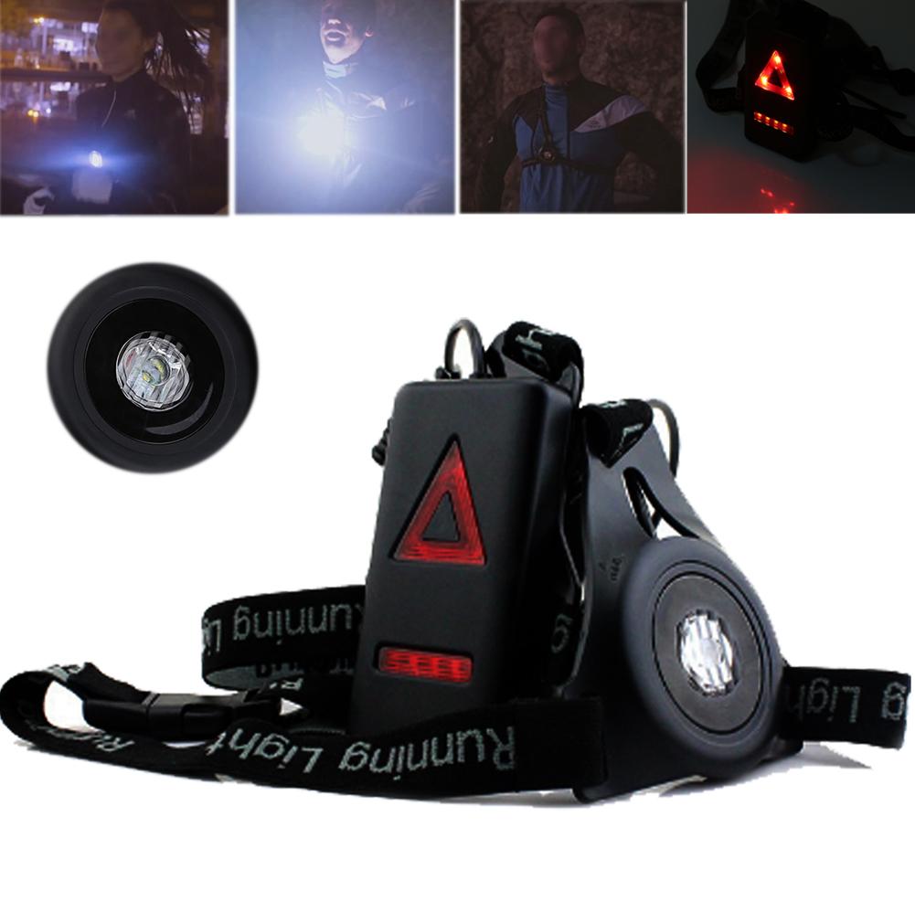 10eaf0307ff LED Lumière De Nuit Courir Running Sports Rechargeable USB Lampe De Torche