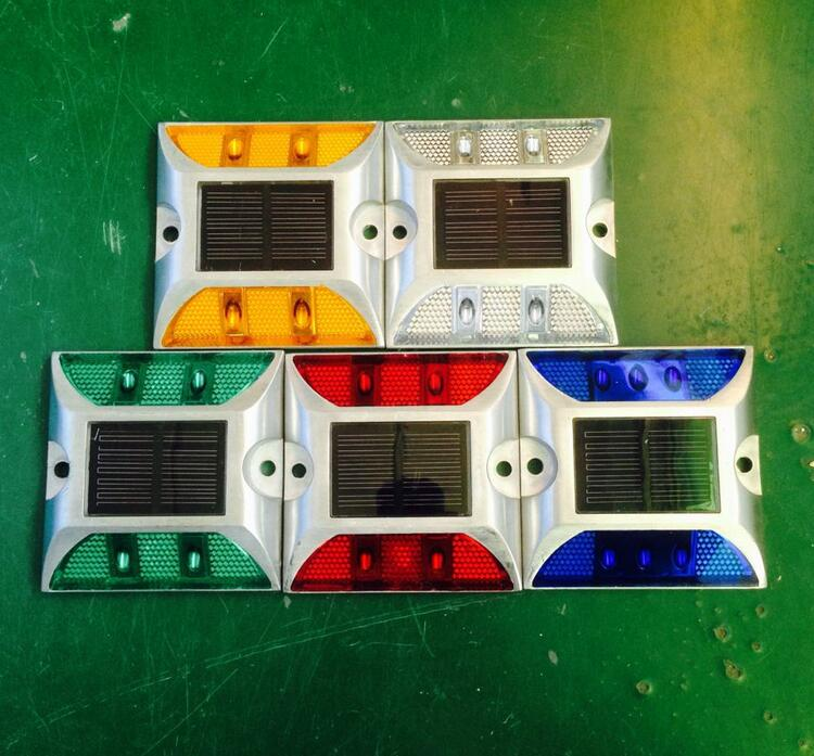 Solar Power Marker Led Outdoor Road Driveway Pathway Path