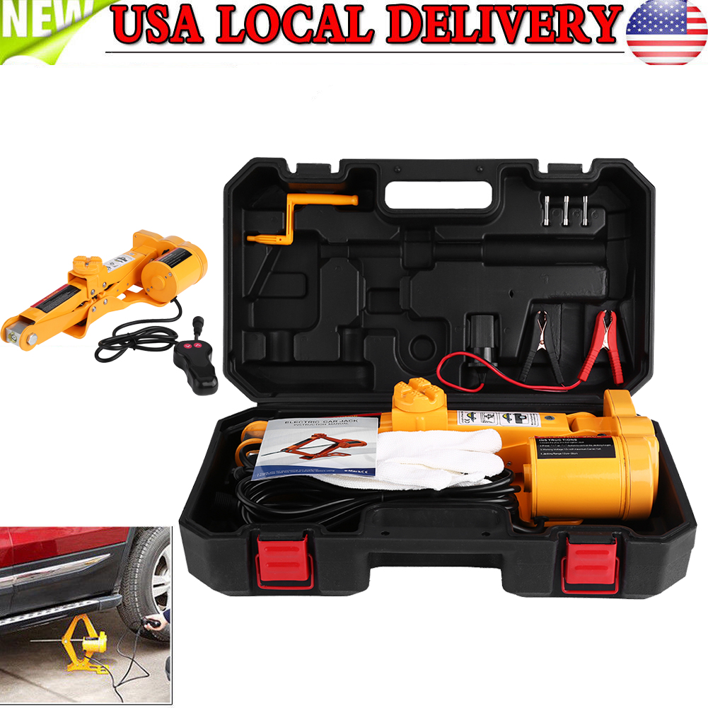 3 Ton Heavy Duty Electric Floor Jack Lift SUV Car